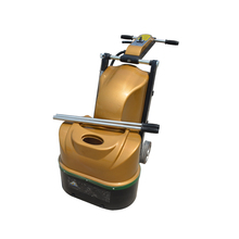 Superior quality gold color floor polisher grinder concrete surface grinding machine