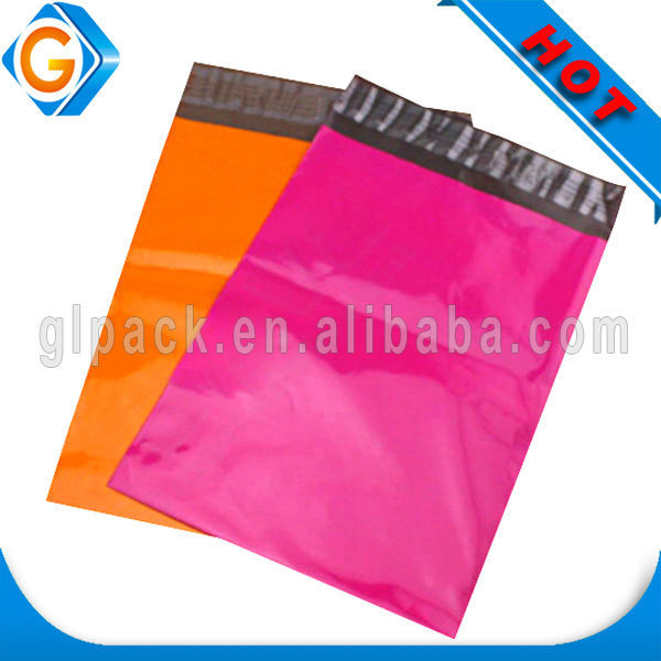 custom printed express plastic polybag poly bag mailer for shop online shipping company