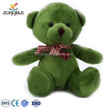 Wholesale cheap plush teddy bear with bowknot custom teddy bear images