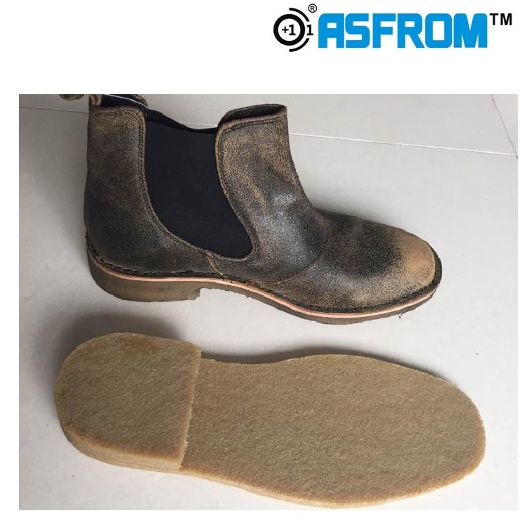 Hohe Qualität Mann-machen Schuhe Material Naturkautschuk Laufsohle