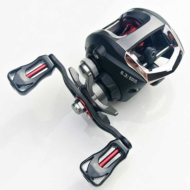 Hot selling promotion low profile fishing reel casting, As the picture show