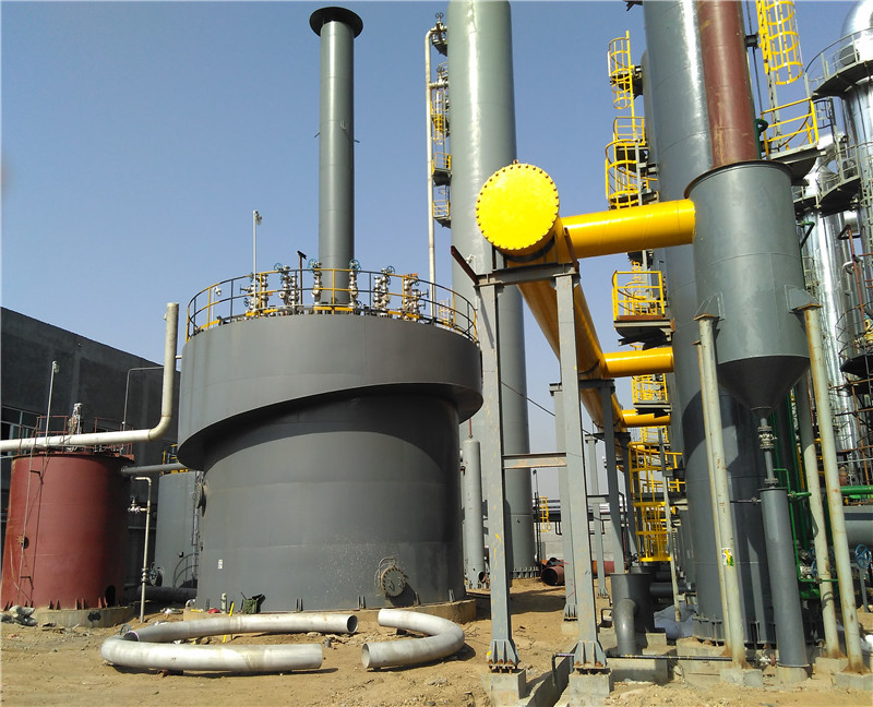 Biogas generating equipment