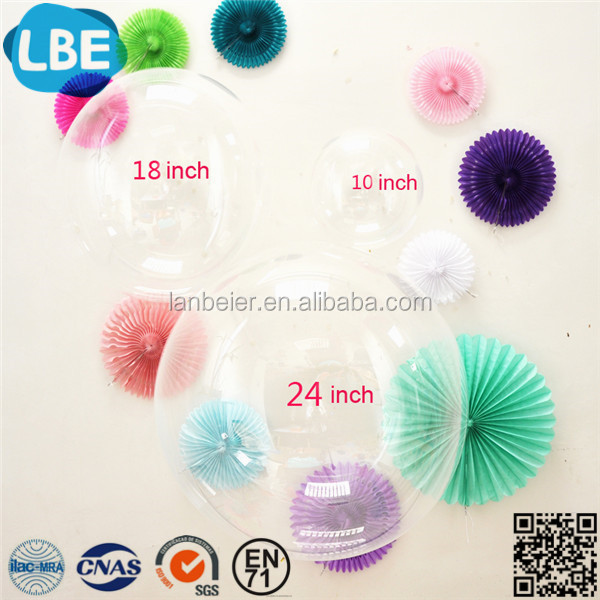 2017 New Arrivals transparent clear bubble balloon