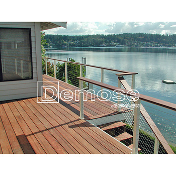 Coloured Wire Rope Deck Railing/cable Deck Railing Ideas