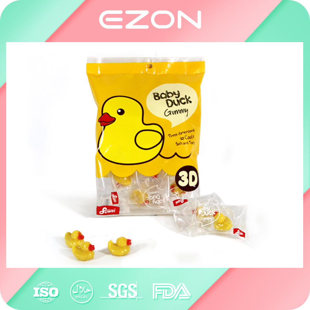 high quality customization lovely plastic candy packing empty sugar bag