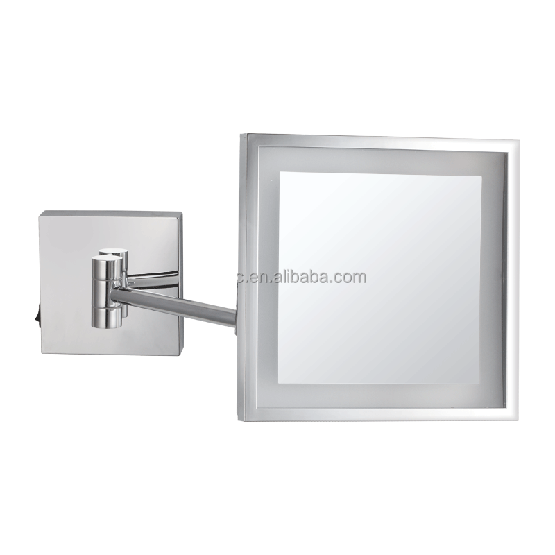 Square Led Bathroom Mirrors Decor Wall Mounted Makeup Mirror Product On