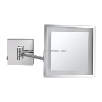 Square Led Bathroom Mirrors Decor Wall Mounted Makeup Mirror Buy