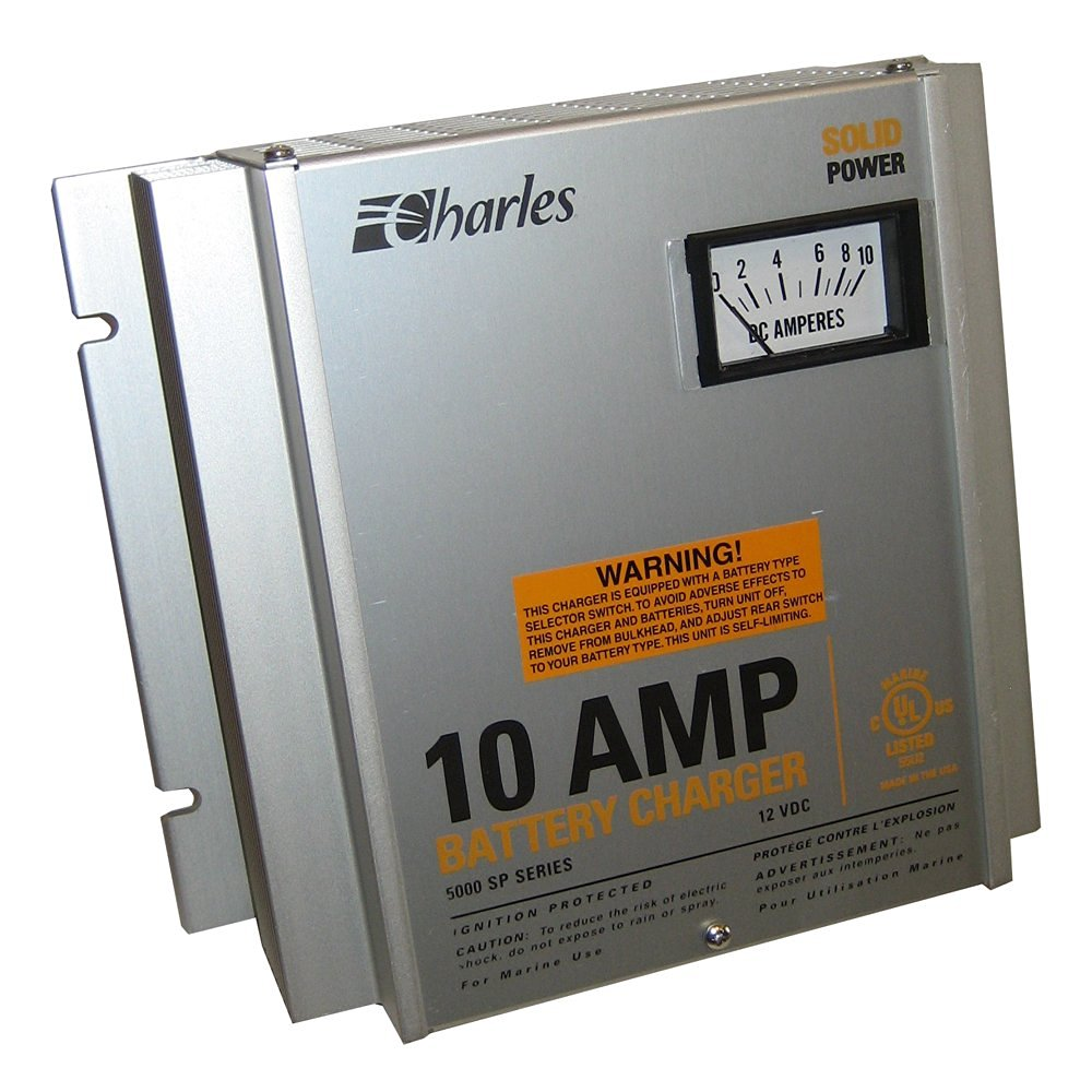 Charles 93-12105Sp-A Charger 5000 Series 10A/3Bank (Part #93-12105Sp-A By Charles)