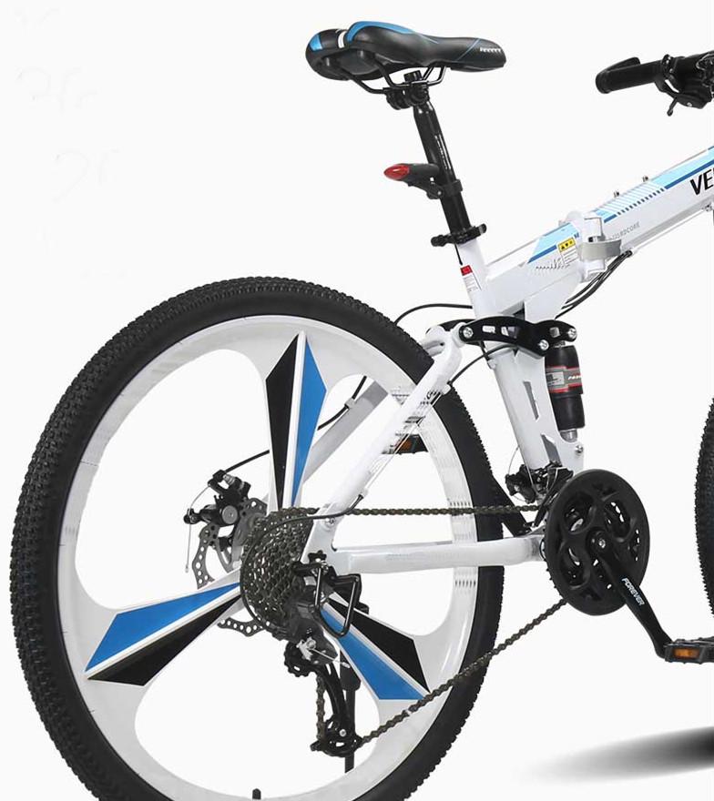 cheap rechargeable folding electric mountain bike 36v 6.8Ah
