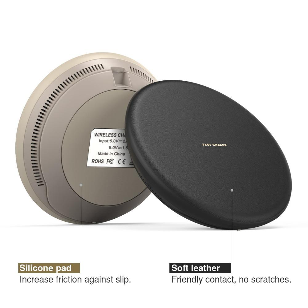 Wireless Charger,qi Wireless charger power bank Fast Charging Pad Station For Samsung Phone Wireless Charging Station