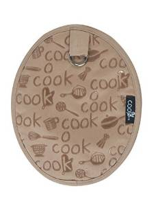 Kay Dee Designs Cook Collection Silicone Potholder, Taupe