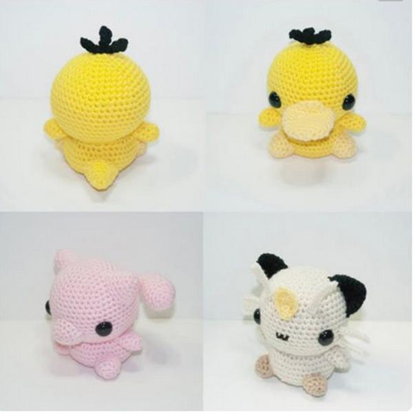 Pikachu En Amigurumi : Pikachu pokemon caracter env?o amigurumi ganchillo muneca ...