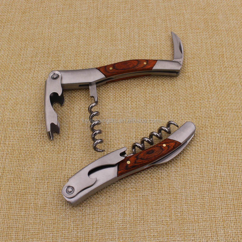 Promotion gifts corkscrew and wine stopper set