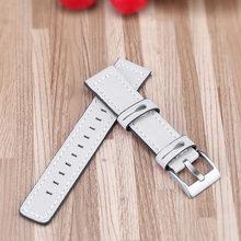 20 мм роскошный ремешок из натуральной кожи для Garmin Forerunner 245 245 M музыка 645 Смарт часы замена Браслет ремень ремешок для часов(Китай)