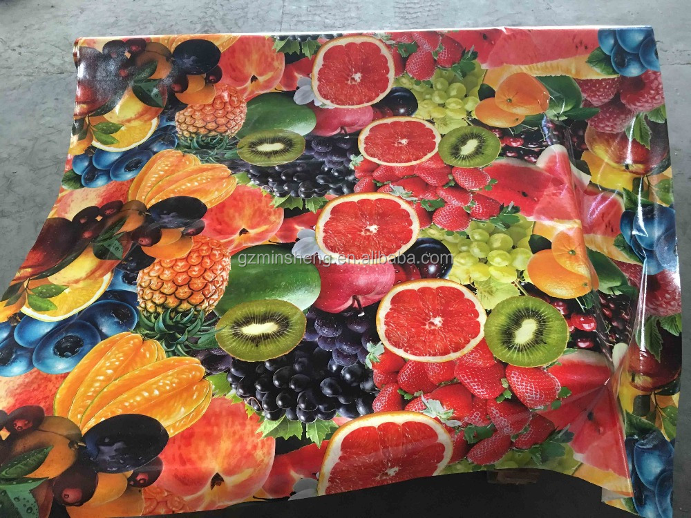 Beautiful Garden BBQ Waterproof Tablecloth with Printing