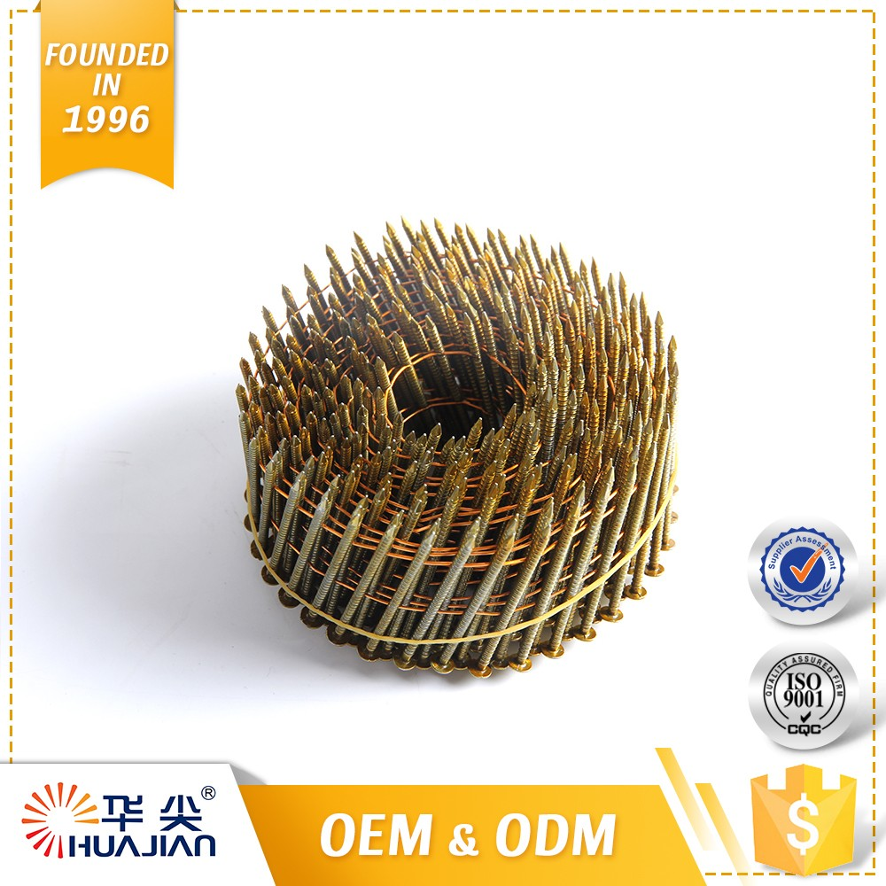 2017Promotional Galvanized Nails China Coil Nail Product