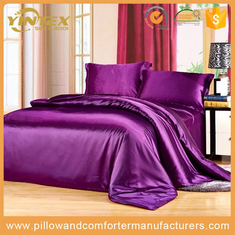 Luxury comfortable adult 100% mulberry silk romantic bed sheet