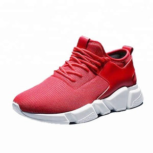 S8005 new model his-and-hers dancing team unisex lovers' red sport shoes