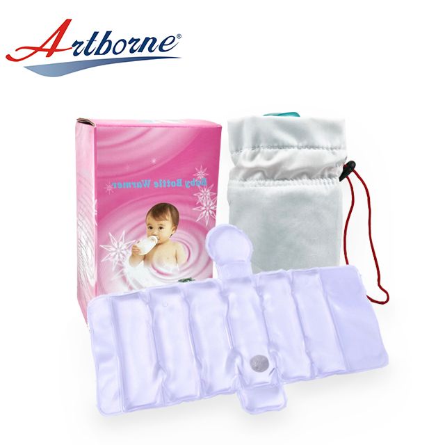 Wholesale outdoor used Reusable Magic Click Heat Pack Baby Feeding Baby Bottle Warmer For Travel