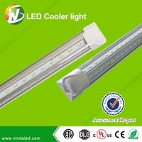 Top quality best selling isolated internal driver LED Integrated tube light for cooler door&fridge
