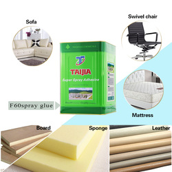 Taiqiang furniture using pu foam mattress hot melt glue spray gun adhesive