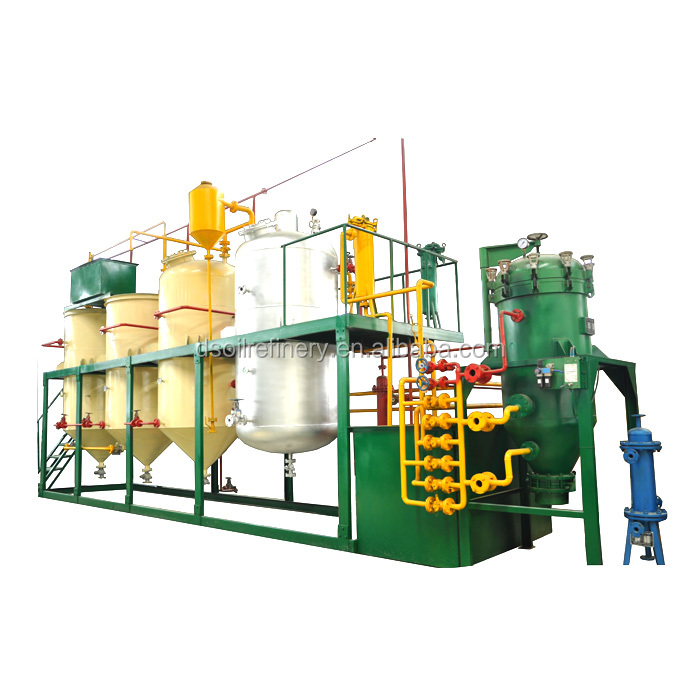 Economic type edible oil refinery plant/oil refining equipment