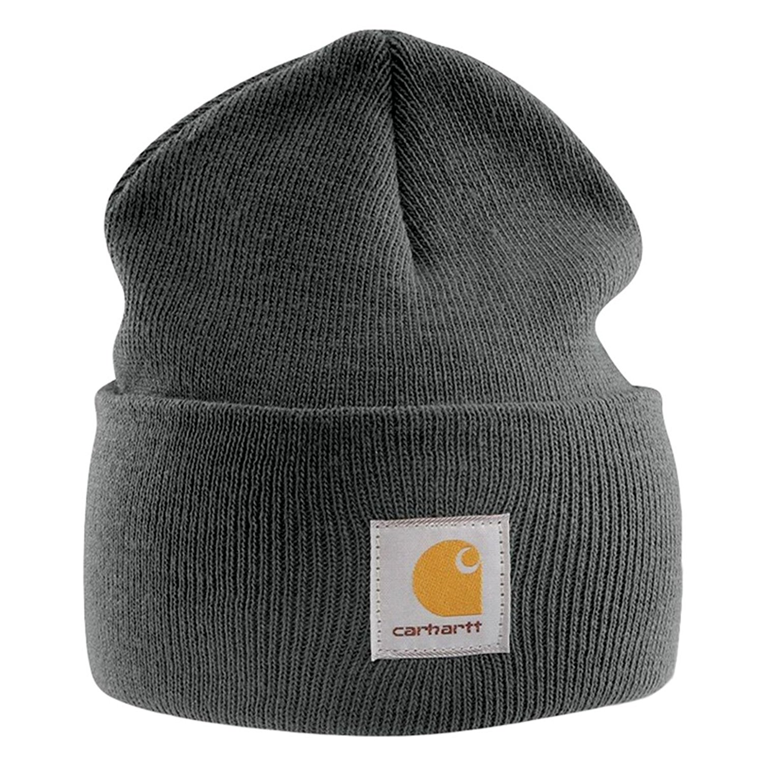 50909f4a330 Get Quotations · Carhartt Acrylic Watch Cap - Charcoal CHA18CLH Mens Winter  Beanie Ski Hat