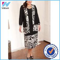 Yihao new desgins fashion custom matching the dress jackets women 2016