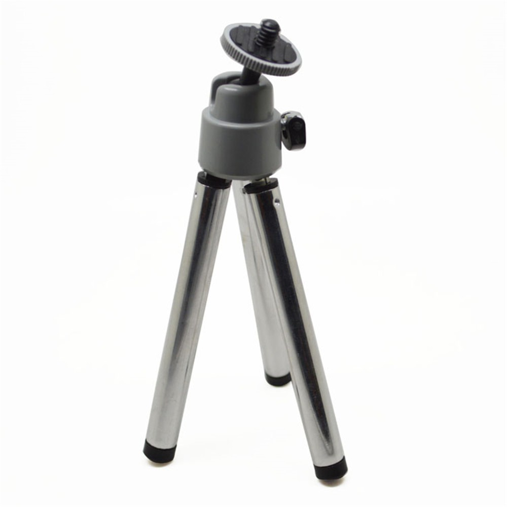 Factory Price Sports Camera Accessories Silver Mini Tripod for GoPros Heros 4 3+/3/2/1 GP103