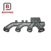 Precision car replacement turbo exhaust manifold