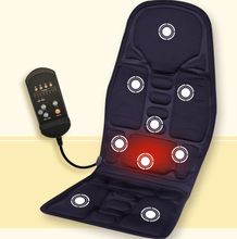 Full back massage cushion Vibrating heated car seat