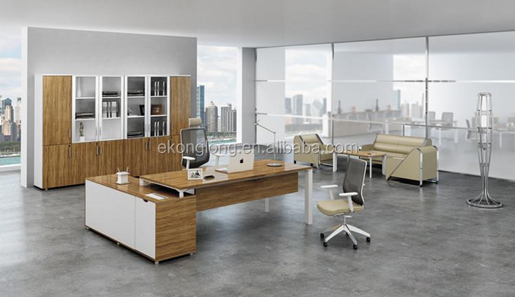 Moderne executive bureau moderne kantoor tafel houten tafels product id 1508200904 - Moderne kantoorbureaus ...