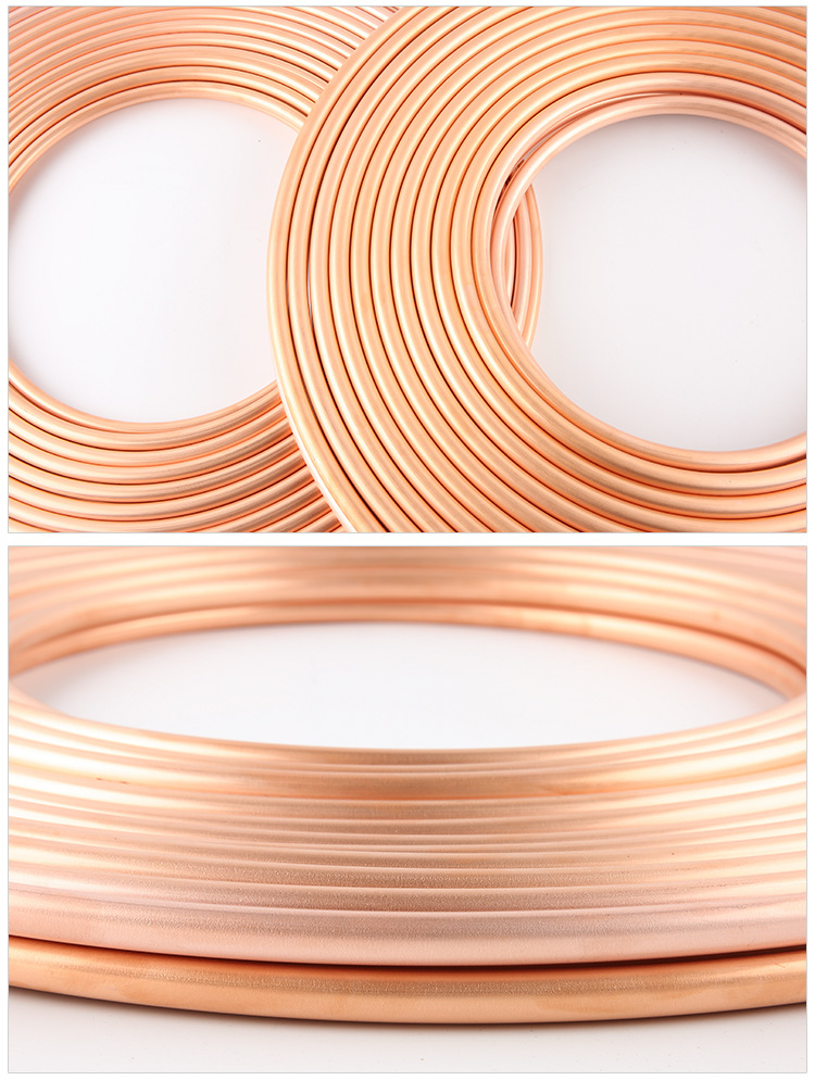 Manufacturer Price Insulated Refrigeration Pancake ac Copper  pipe/Tube coil For Air Conditioners