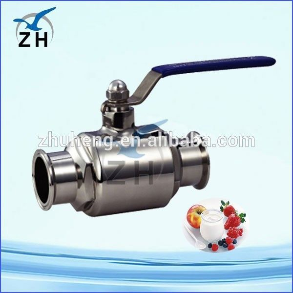 sanitary 3 pcs ball valve 316