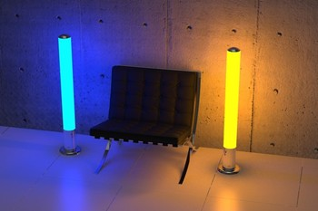 Floor Led Lamp Monolith Rgb With Wi