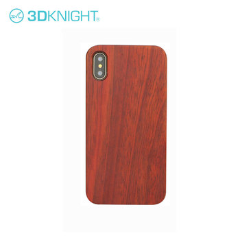 Mobile Accessories Laser Engraving Custom Blank Real Rose Wood Phone Case