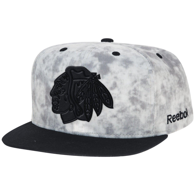 12a00eaf7ee Get Quotations · NHL Men s Acid Wash Flat Brim Snapback Hat