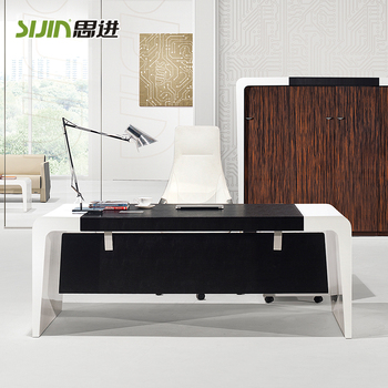 Modern Office Furniture Table PhotoLuxury Office Table Design For