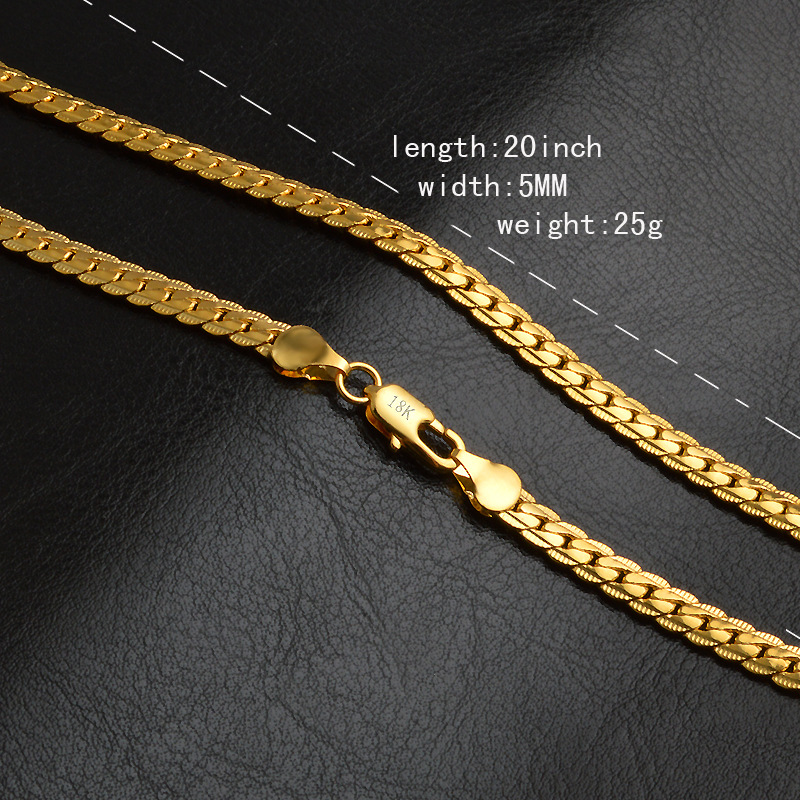 Dubai New Gold Chain Design For Men Jewelry Manufacturer Stainless ...