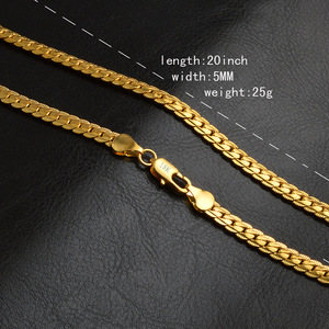 b06dcf3068f0d Dubai New Gold Chain Design For Men Jewelry Manufacturer Stainless Steel  Gold Plated Chain Necklace