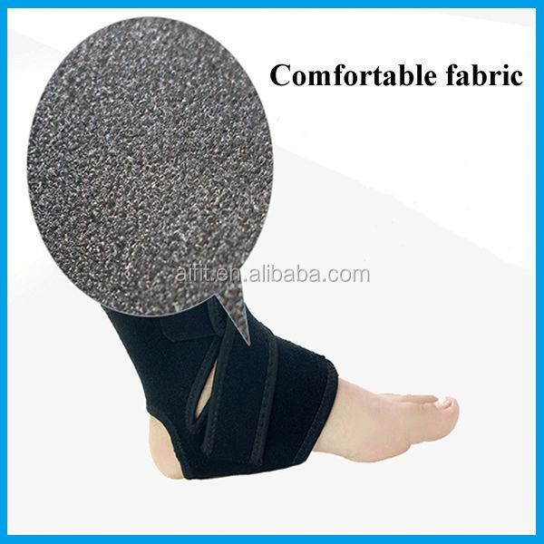 china supplier neoprene foot ankle gel pads brace