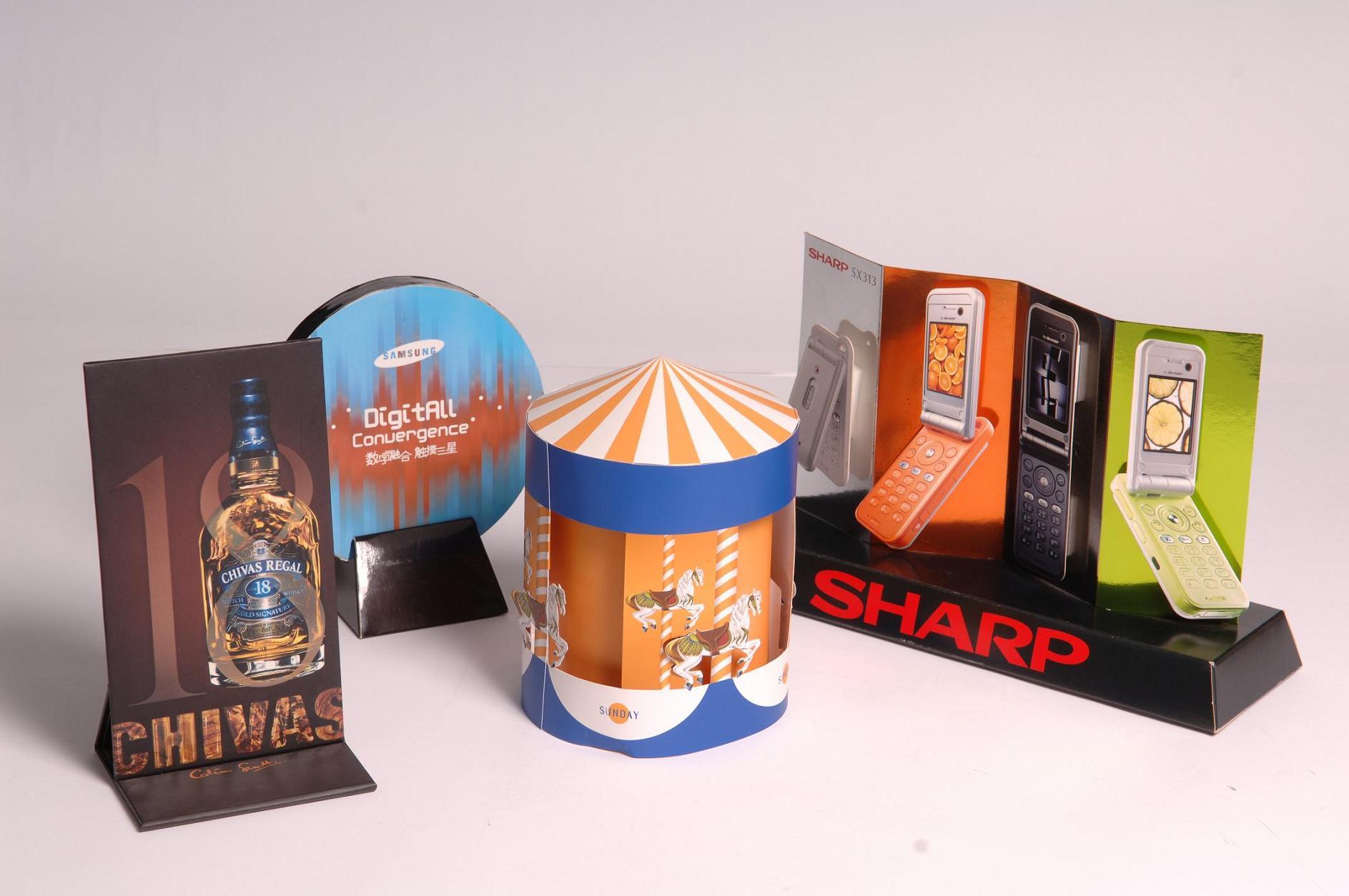 pop stands & displays