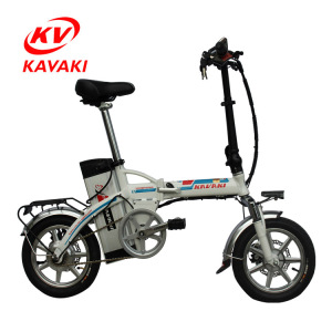2018 China new style 14 inch small folding ebike with 48V 250w motor