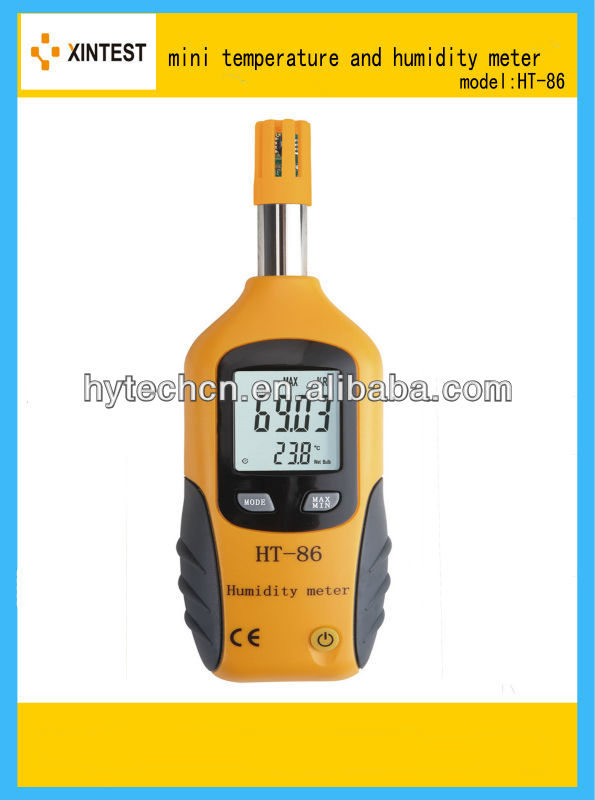 Multi-function Digital Humidity & Temperature Meter, Thermometer & Hygrometer with Wet Bulb / Dew Point - KingCare | KingCare.net