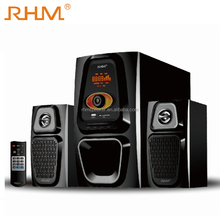 "Professionale <span class=keywords><strong>altoparlante</strong></span> di multimedia 2.1CH 5.25 ""sistema di altoparlanti home theater subwoofer"