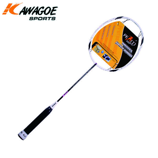 Carbon aluminum badminton racket