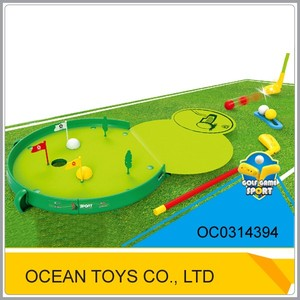 New gift favors for kids golf toy play set sport toys