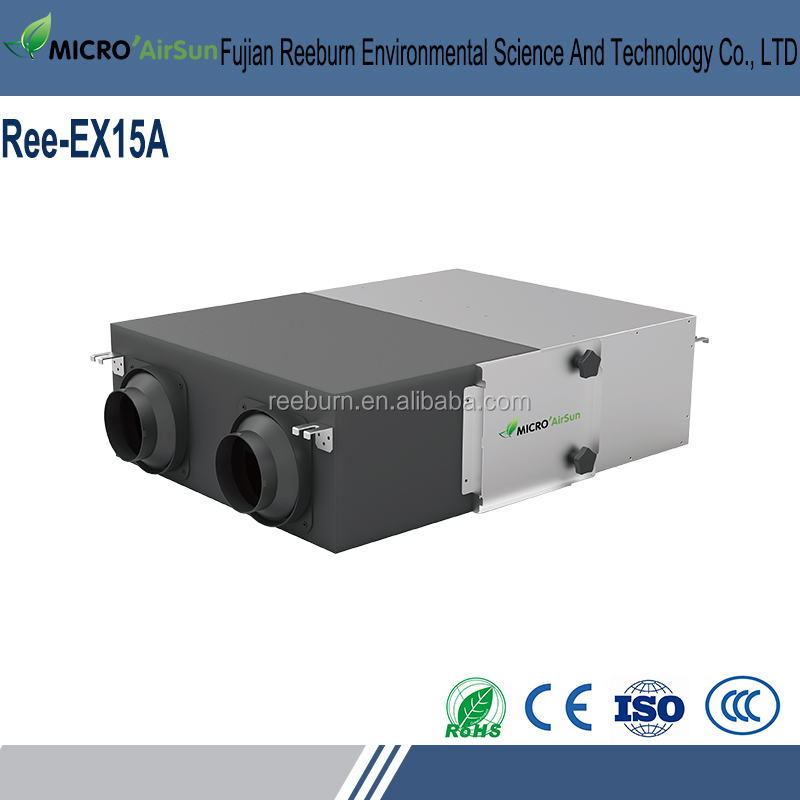 Residential Air To Air Heat Exchanger Energy Recovery Ventilator For Hvac System
