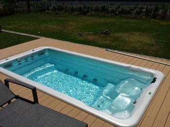 4 Meters New Design Large Swim Spa Buy Swim Spa Salt