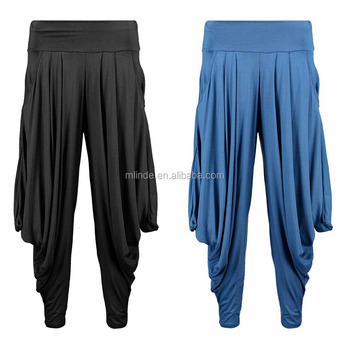 639a36b51e4f2 Wholesale Casual Loose Pants Yoga Pants Womens Track Pants Oversized Slouchy  Hareem Trousers Ladies Fashion Trousers